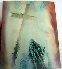 3D Animated Lenticular-Praying Hands/Cross Changes to Our Savior Jesus-Vintage