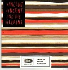 (CB533) Vincent Vincent & The Villains, On My Own - 2007 sealed DJ CD
