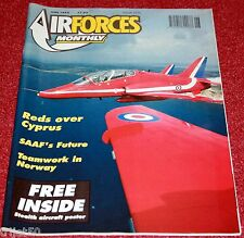 Air Forces Monthly 1992 June SAAF,Red Arrows,F-16,