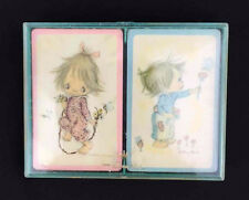 Vintage HALLMARK  Betsy Clark Twin Playing Card Set BridgeSealed Deck