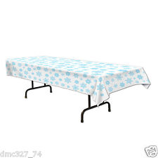 CHRISTMAS Winter or FROZEN Themed Party Decoration Plastic SNOWFLAKE TABLE COVER
