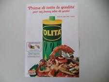 advertising Pubblicità 1968 OLIO OLITA STAR