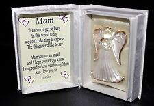 Mam wedding thank you gift Guardian Angel poem Box gift wrapped wedding favour