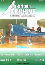 AIR-BRITAIN ARCHIVE OCT 99: MAGISTER IN TURKEY/ ABC OF THE FLYING FLEA/PUSS MOTH