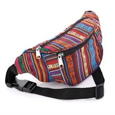 MULTI AZTEC TRIBAL BUM BAG HALLOWEEN PARTY HOLIDAY TRAVEL BOHO FANNY PACK