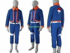 Naruto young  Obito Uchiha Cosplay Costume any size Vest Overcoat Pants