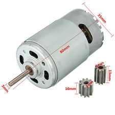 12V DC Motor for Children Car Traxxas R/C and Power Wheels 30000 RPM High Speed