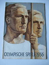 Official magazine 1936 Berlin Olympic Games Olympische Spiele 1936 No.14