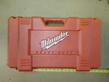 "Milwaukee 0602-22 driver drill compact 12v 3/8"" case only"