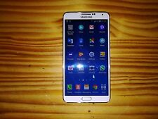 Samsung Galaxy Note 3 SM-N900A - 32GB - White (AT&T) Smartphone - Unlocked
