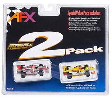 AFX Mega G+ Formula F1 DP01 Twin Pack HO Scale Slot Car MegaG 21021