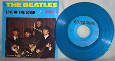 """The Beatles-45 RPM-7""""-Deccagone-""""Love of the Loved/Memphis""""-Promo-Not for Resale"""
