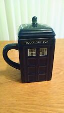 Doctor Who Figural Tardis Mug, 17 oz Collectable Police Box