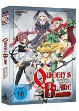 ++ Queen's Blade: Beautiful Warriors - DVD Gesamtausgabe (OmU) dt. TOP !++