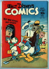 WALT DISNEY'S COMICS & STORIES 31 New DONALD DUCK Stories by Carl Barks 1943