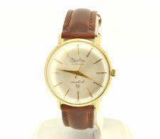 Lucien Piccard 14K Yellow Gold Automatic Seashark Mens Watch:Excellent condition
