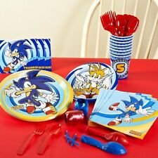 Sonic the Hedgehog Multicolor Party Pack for 8