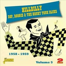 Hillbilly Bop Boogie & The Honky Tonk Blues, Vol. 5 by Various Artists (CD,...