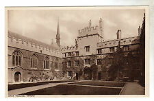 Jesus College - Oxford Photo Postcard c1930