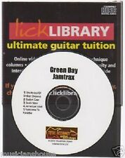 Lick Library GREEN DAY Guitar Jamtrax Play Jam Trax CD