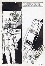 TREMBLEMENT DE TERRE  PLANCHE ORIGINALE ELVIFRANCE PAGE 86