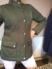 Crew Clothing Co Khaki Green  Barbour Jacket / Size 12 /£5 Off On Black Friday!