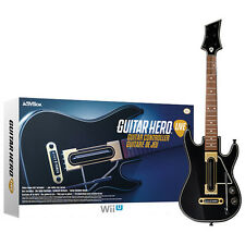 Official Guitar Hero Live Guitar Controller ONLY Nintendo WiiU Wii U Brand New