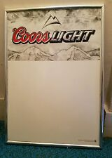 2004 Coors Light dry erase board