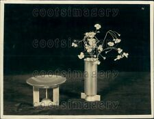 1936 Lovely Alfons Bach Designed Vase of Germany Press Photo