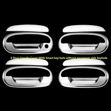 FOR Lincoln Navigator 1998 99 2000 01 2002 Chrome 4 Doors handles Covers