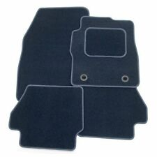 Perfect Fit Navy Blue Carpet Car Floor Mats for Ford Mondeo Mk5 2015  - Heel Pad