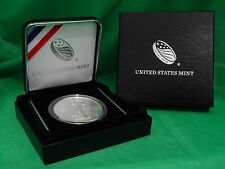 2016 American Silver Eagle in Us Mint Gift Box, Us Mint Capsule, & Velvet Case