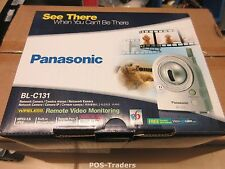 PANASONIC BL-C131 Pan-tilt INDOOR Wireless Network Security CCTV Camera NEW NEU