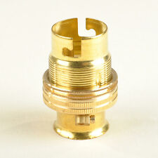 BRASS LAMP HOLDER 2Omm THREAD - M20 CONDUIT END SPECIAL LOCATION FITTING