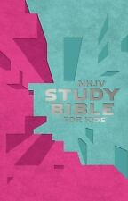 NKJV Study Bible for Kids Pink/Teal Cover : The Premiere NKJV Study Bible for...