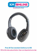 5 in 1 Wireless Headphones with Mic for TV PC CD DVD MP3 MP4 Radio Cordless Easy