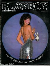 PLAYBOY n°85 # 12/1980 # SPECIAL NOEL / LAURENT FABIUS / CX BREAK EVASION