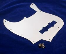BRUSHED ALUMINIUM FINISH LEFT HANDED SCRATCHPLATE FOR FENDER JAZZ BASS