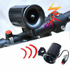 Bicycle Bike Ultra-loud Bell 6 Sound Horn Alarm Siren Speaker Electronic New DP
