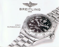 BREITLING COLT SUPEROCEAN ANLEITUNG INSTRUCTIONS I217