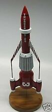 Thunderbird-3 Supermarionation Spacecraft Kiln Dry Wood Model Large New