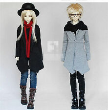Handsome Scarf Coat For 1/4 1/3 Uncle BJD SD MSD Doll Luts IP DZ Clothes CMB22