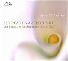 """Andreas Hammerschmidt: Four Suites from the Collection """"Erster Fleiss"""", , New Im"""