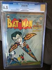 BATMAN 66 CGC 6.5 GOLDEN AGE DC COMIC FROM 1951