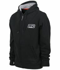 2015 NWOT MENS THIRTYTWO AIRJACK REPEL ZIP UP HOODIE $76 XL black graphics logo