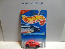 Hot Wheels #293 Pink VW Bug w/5 Spoke Wheels