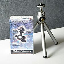 Universal Mini Tripod Stand + Bike Mount for Cameras (Value Pack) 0100101001