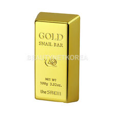 [THE SAEM] Gold Snail Bar 100g / Premium Facial soap