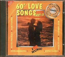 60' Love Songs Vol. 2 - Elvis Presley/Otis Redding/Sam Cooke/Etta James Cd