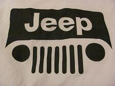 1 JEEP LOGO ON 18X18 SEWING BLOCK QUILT SQUARE WRANGLER CJ 4X4